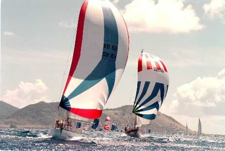 Racing in St. Maarten